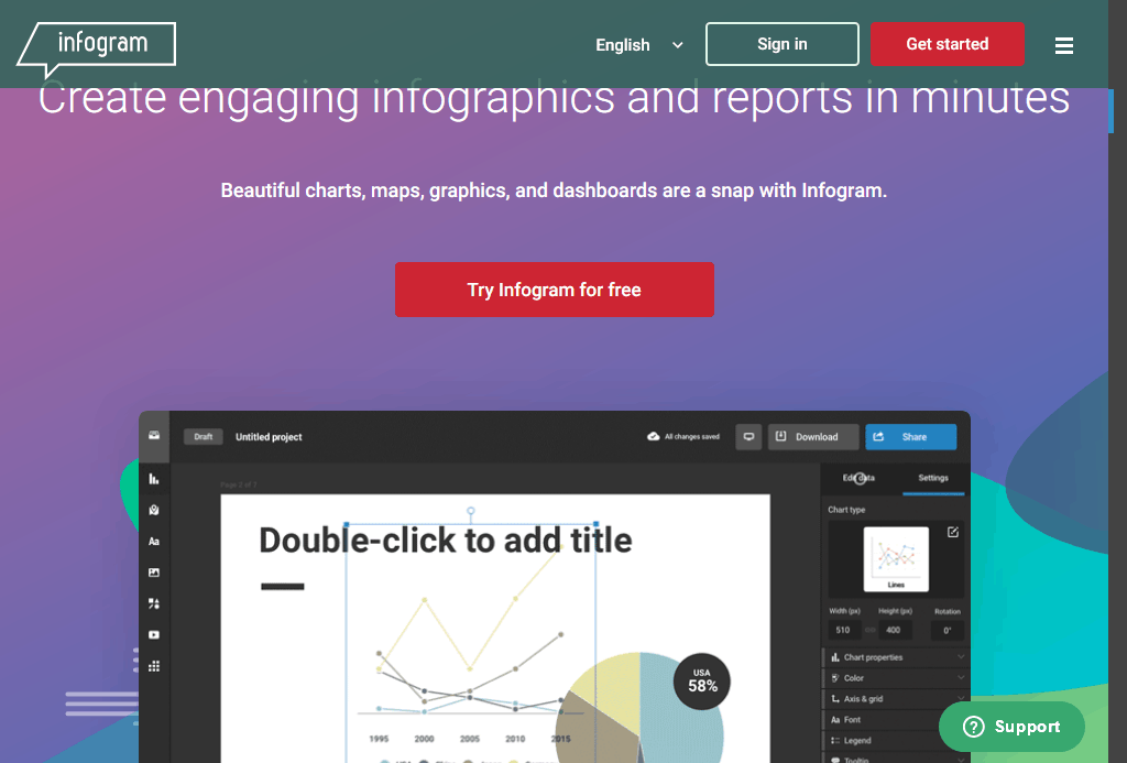Infogram Create Infographics, Reports and Maps