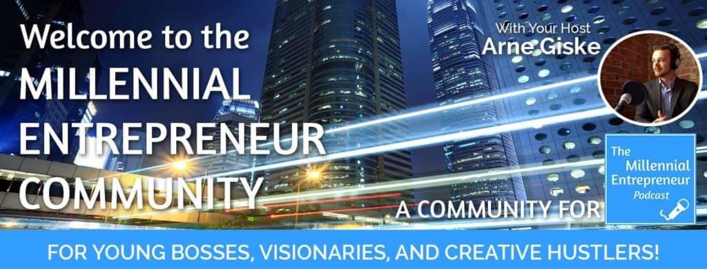 Millennial Entrepreneur Community Facebook group