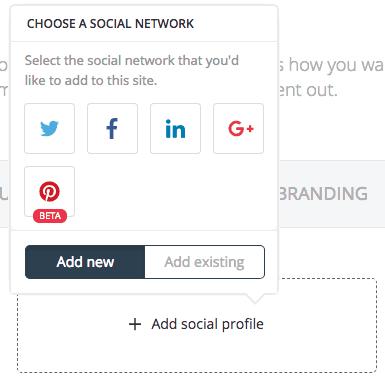 Select social media