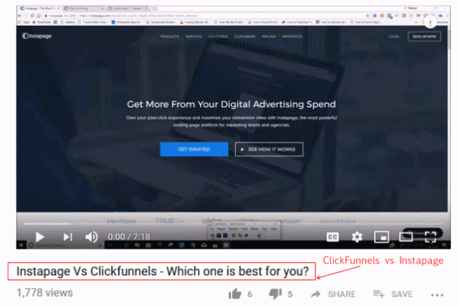Clickfunnels vs Instapage