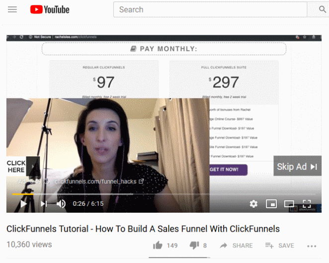 How To Build A Sales Funnel With ClickFunnels - YouTube