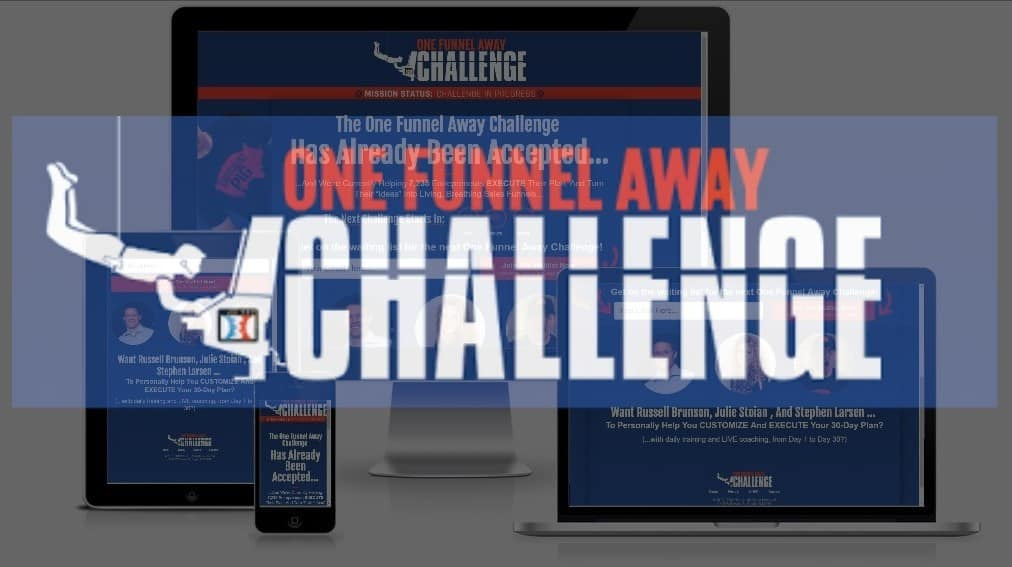One Funnel Away Challenge Review (2020): Discounts, Price & BONUSES!