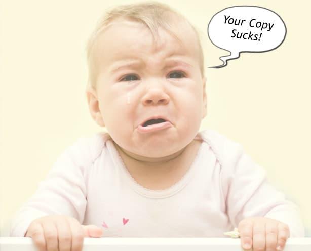 Your copies sucks