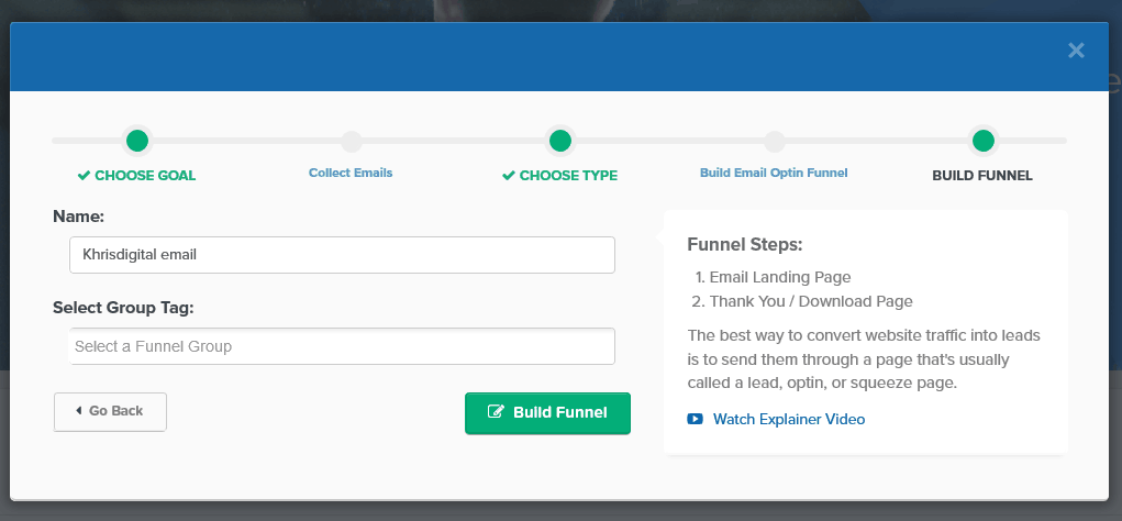 ClickFunnels Build 2