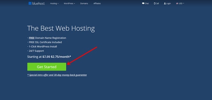 Secure Reliable Hosting - Bluehost