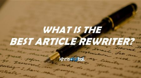 9 Best Article Rewriter & Article Spinner Software Tools (Free & Paid)