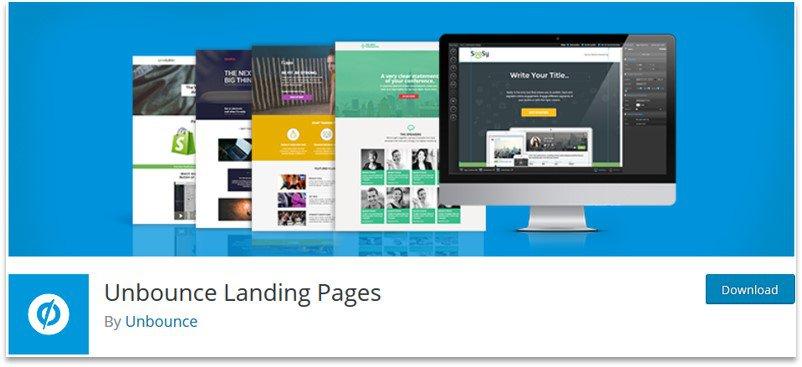 Unbounce WordPress plugin