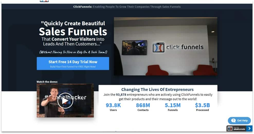 ClickFunnels funnel creator and designer