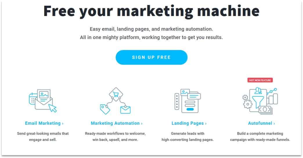 GetResponse autoresponder for affiliates