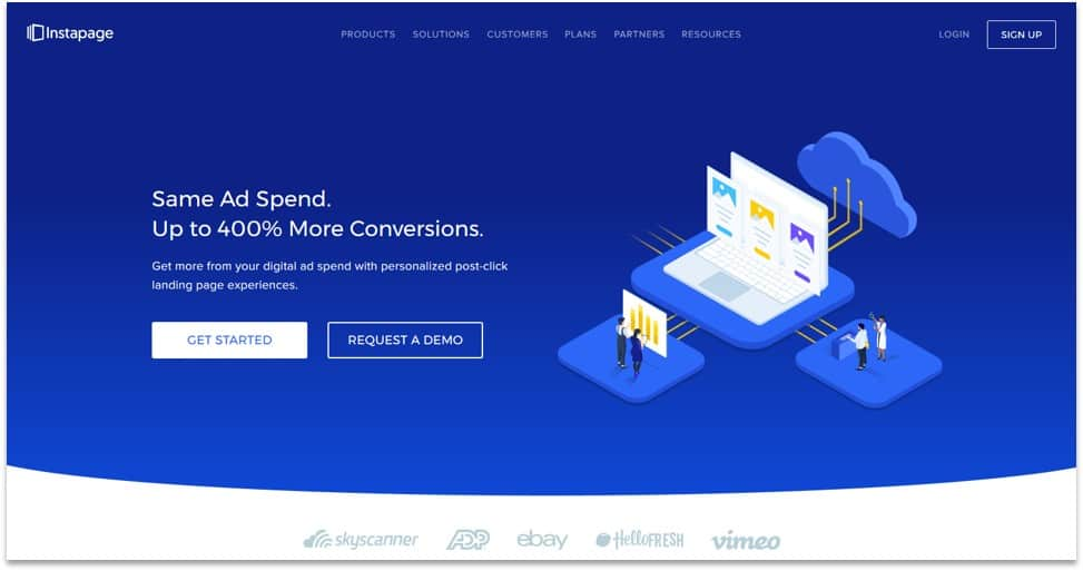 Instapage - best landing page service