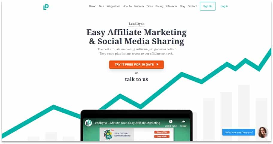 Lead Dyno Affiliate network and platform