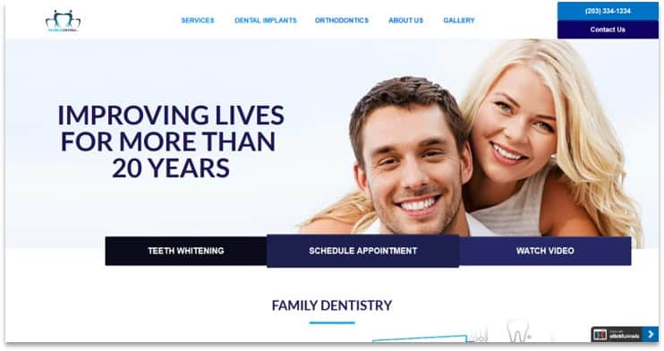 Dentist Funnel template