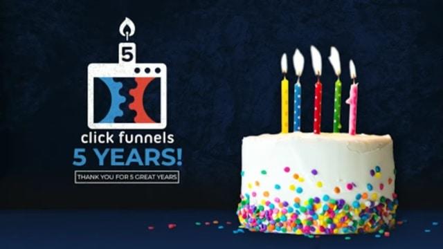 ClickFunnels 5th birthday