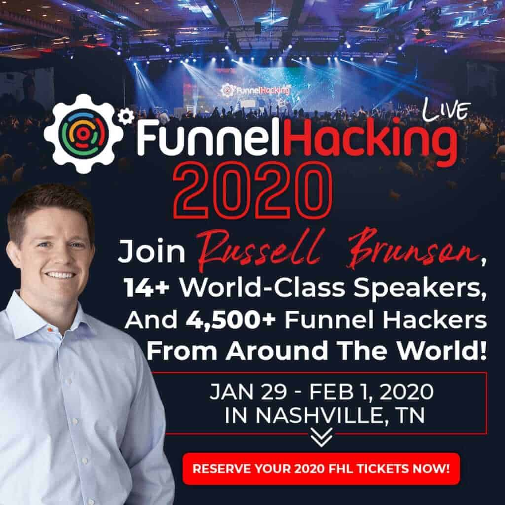 Funnel hacking live date