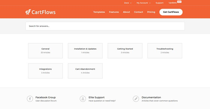 Cartflow support