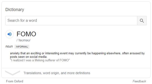 FOMO definition