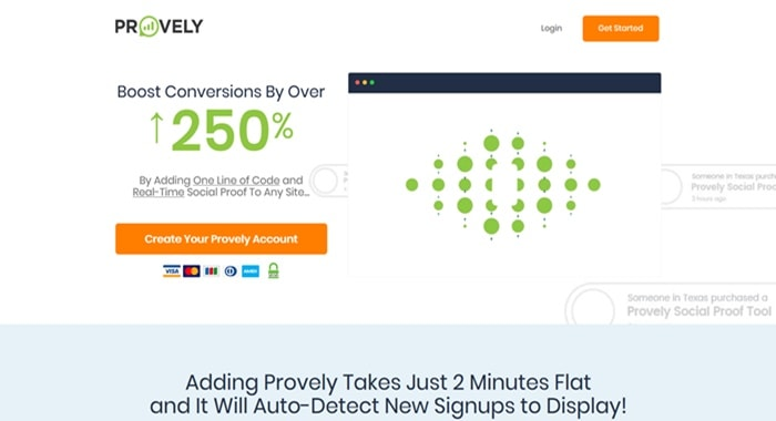 Provely social proof