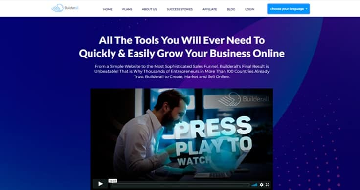 Builderall funnel software