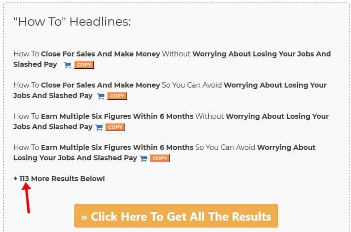Headline Generator - FunnelScripts free