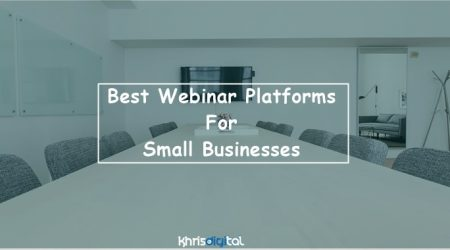 13+ Best Webinar Software Platforms For Small Business (2021 GUIDE)
