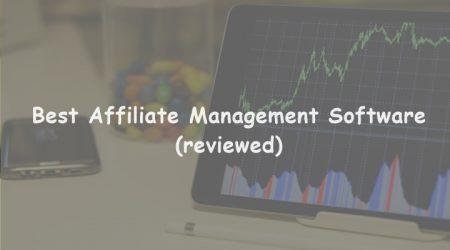 13 Best Affiliate Management Software System (Ranked)