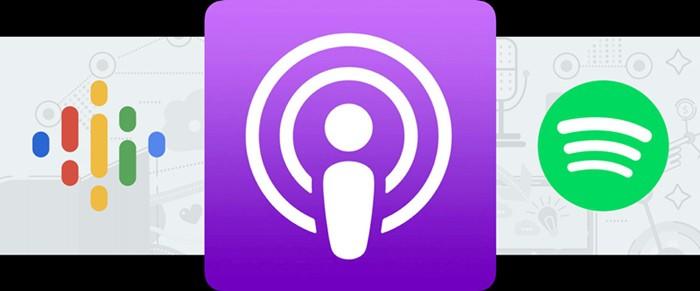 Podcast platform stats