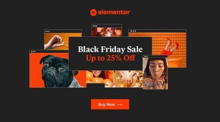 Elementor Black Friday & Cyber Monday 2020 (25% OFF!)