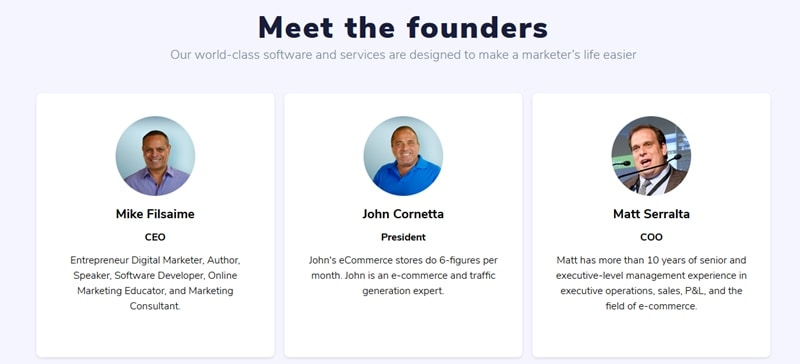 GrooveFunnels founders
