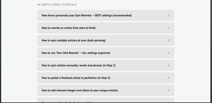 Spin Rewriter tutorial